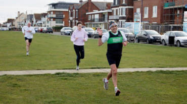 Putting a Tick Against X Country Running – guesting With the Kent Fitness League.