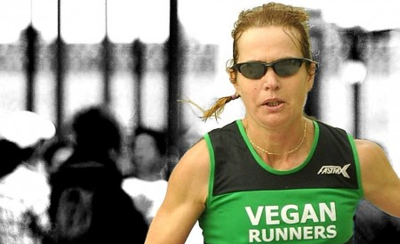 Fiona Oakes - Atlantic City Marathon 2013