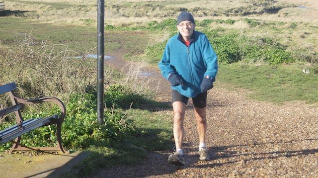 Keith Gilbert completes his 100th parkrun