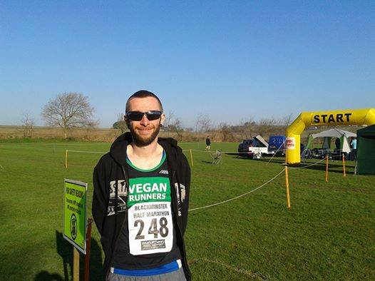 Mike at the Blackminster Half