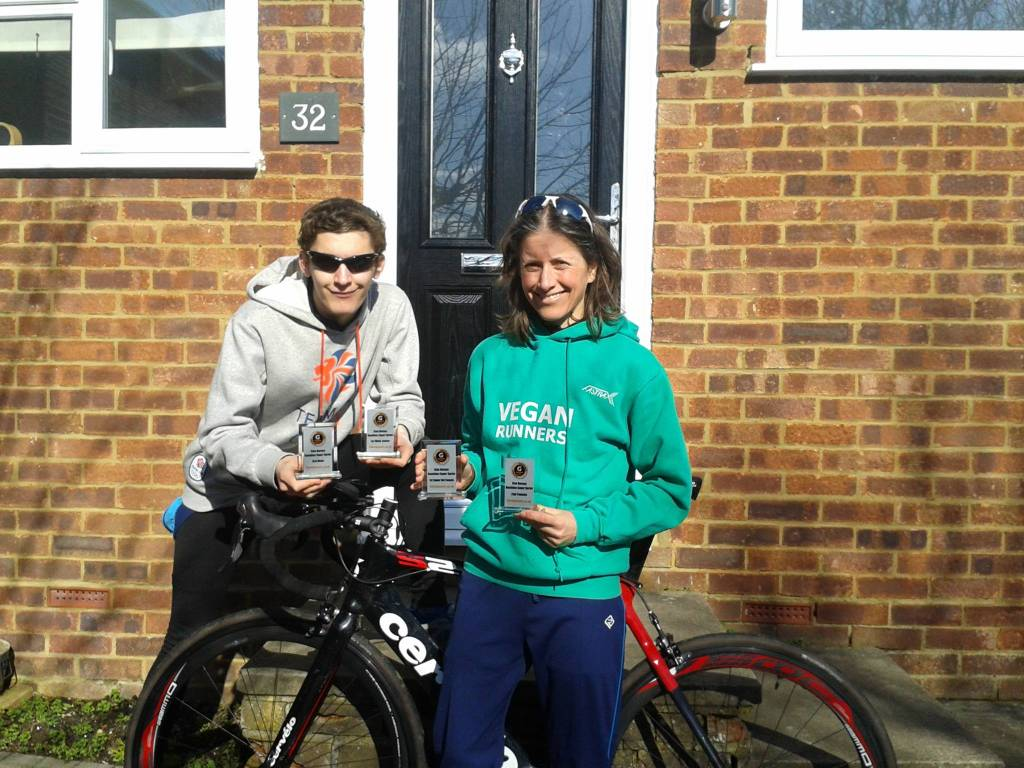 Verna and Stephen Burgess Dorney Lake Duathlon 2014