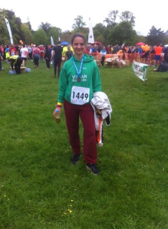 Barbara Xella after Oxford T&G 10k 2014