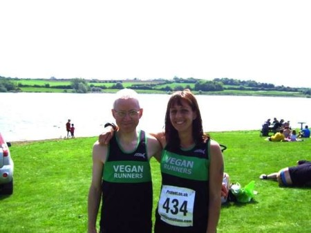 Peter Simpson and Yasmin Inglis Pitsford Water 10 2014