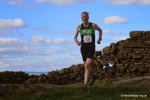 Phil Davies Bradley Fell Race
