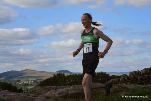 Phil Davies Bradley Show Fell Race