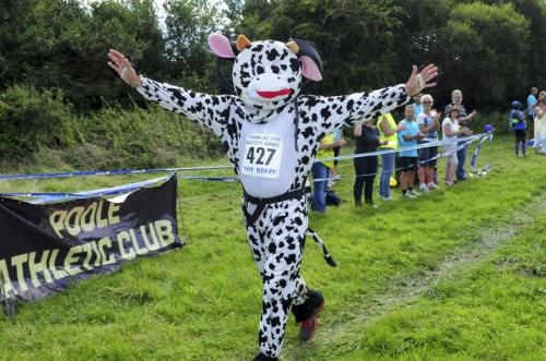 Tony Pitt (Karma the Cow) Corfe Castle Beast Half