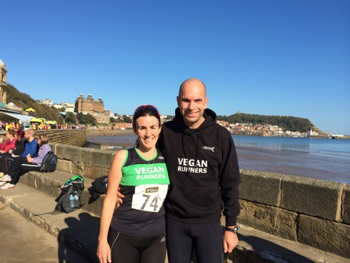Rich Caxton Tracy Guild 2014 Yorkshire Coast 10k