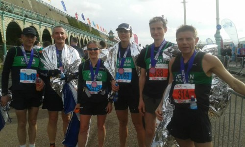 Faster Finishers Brighton Half 2015