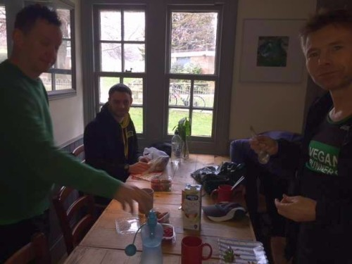 Brighton parkrunners picnic