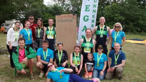 Endure24 team with medals