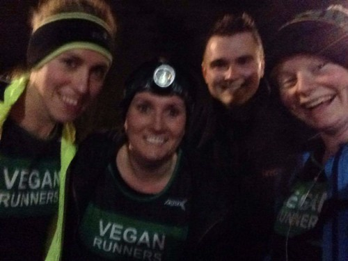 Newcastle vegan runners - night run