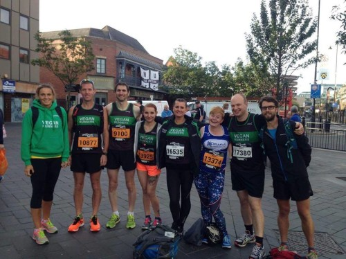 Newcastle Vegan Runners chase Mo Farah in Great North Run