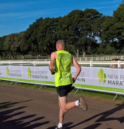 Vegan power at the New Forest Marathon and Half