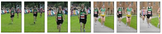 Pictures from Max Newton's marathon (Robin Hood, Nottingham)