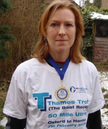 Anna Finn Thames Trot 50 picture
