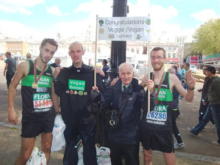 A Supporter's London Marathon Report