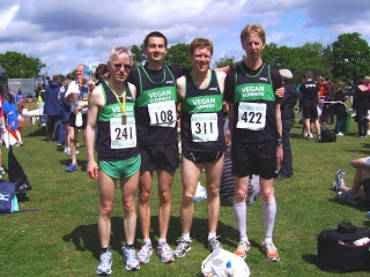 Woodley 10K team meet-up
