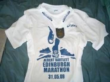Edinburgh Marathon – Anna Finn