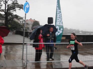 Chloe Vincent,Dresden Marathon 18/10/09