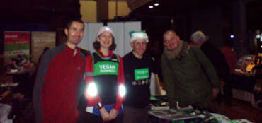 Photo from VRUK stall at Reading Eco Veggie Fayre