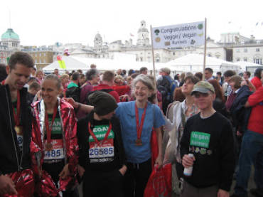 London marathon photo