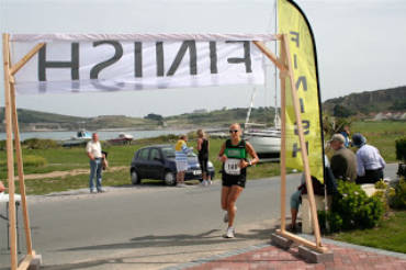 Alderney race report: half marathon & 10k