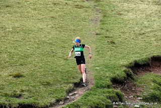 Vegan gal first overall, despite not going mad on the downhills