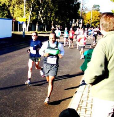 Birmingham Half Marathon, 24/10/10
