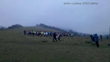 John Bateson – Box Hill fell race, 23rd January 2011