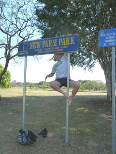 Dave Competes in Brisbane Park Run!