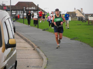 New 5K PB at Whitstable Parkrun.