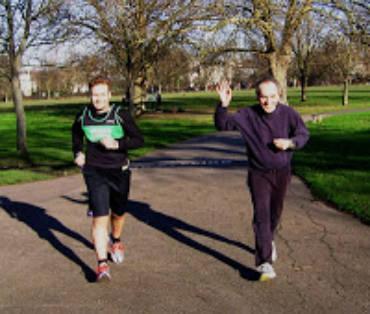 Regents Park Training, 15/01/2012