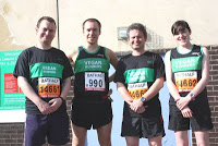Bath Half Marathon, 11 March