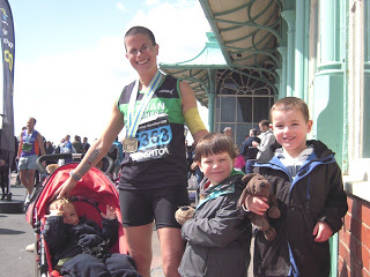 Brighton Marathon, 15 April