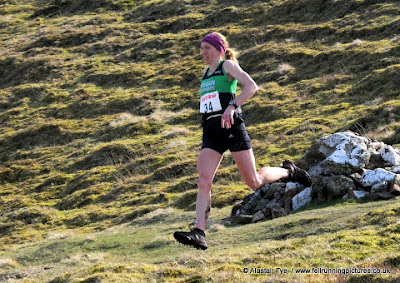 Helen Fines 1st place at Ras yr Aran – 24th March