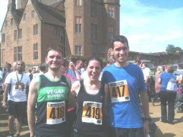 Two Castles 10K, Warwick 10 June