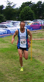 Bruce finishes 3rd in a tough Half Marathon, 16 September