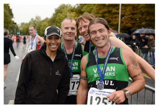 VRUK team 2nd at Tonbridge Half Marathon, 23 Sep