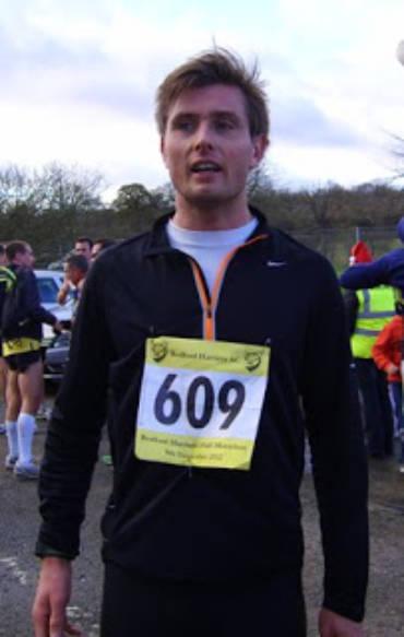 Bedford Half Marathon, 9 December