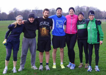 London Training Session, January 2013