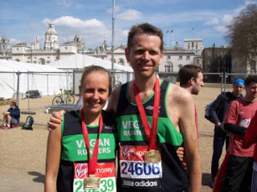 London Marathon success