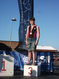 Solid performances from the whole of the Burgess household at weekend Triathlon & Aquathons