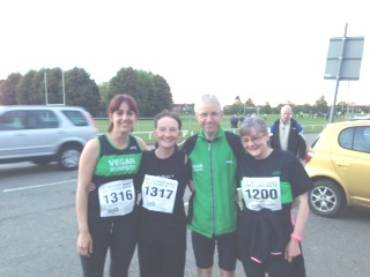 VRUK team in Rugby 6 miles event