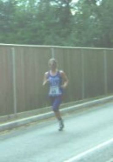 Verna Runs a Rare 10K on the Road