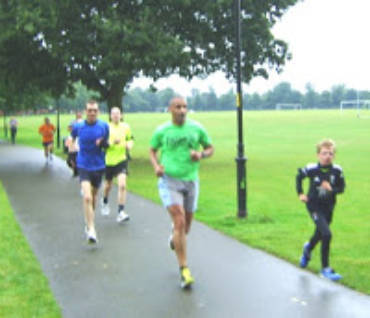 Tim Williams at Northampton Parkrun