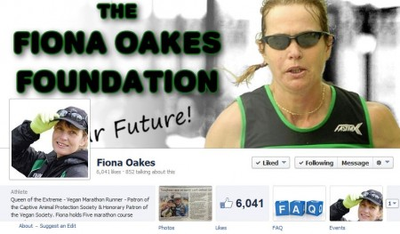 Fiona Oakes at the Marathon des Sables