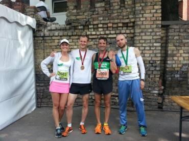Riga and Orpington Marathons