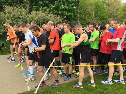 Dave's 100th parkrun