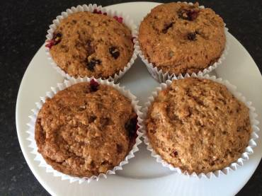 Blueberry Lassy Muffins