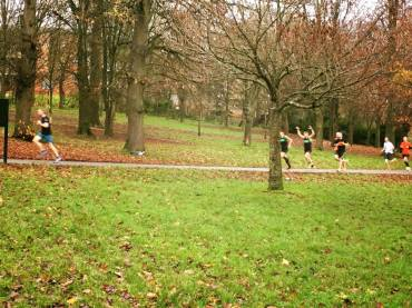 The Brighton Vegan Runner's December meet up